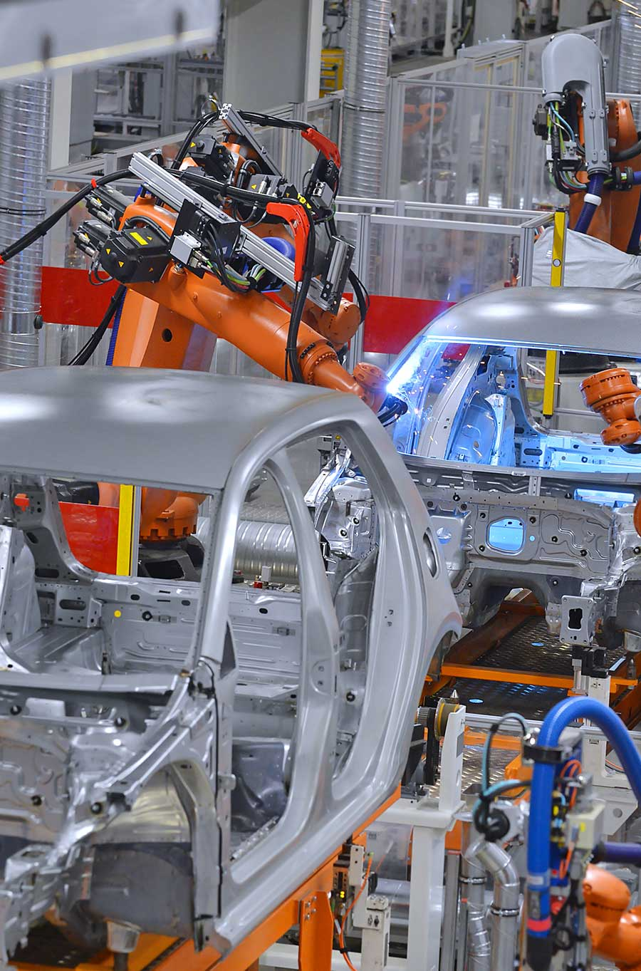 Leer high tech laser produces parts for the Automotive Industry