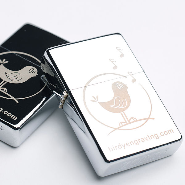 engrave a logo or message on any metal object