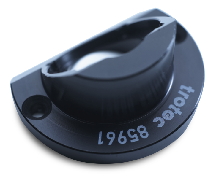 engrave a part ID number on plastic auto parts